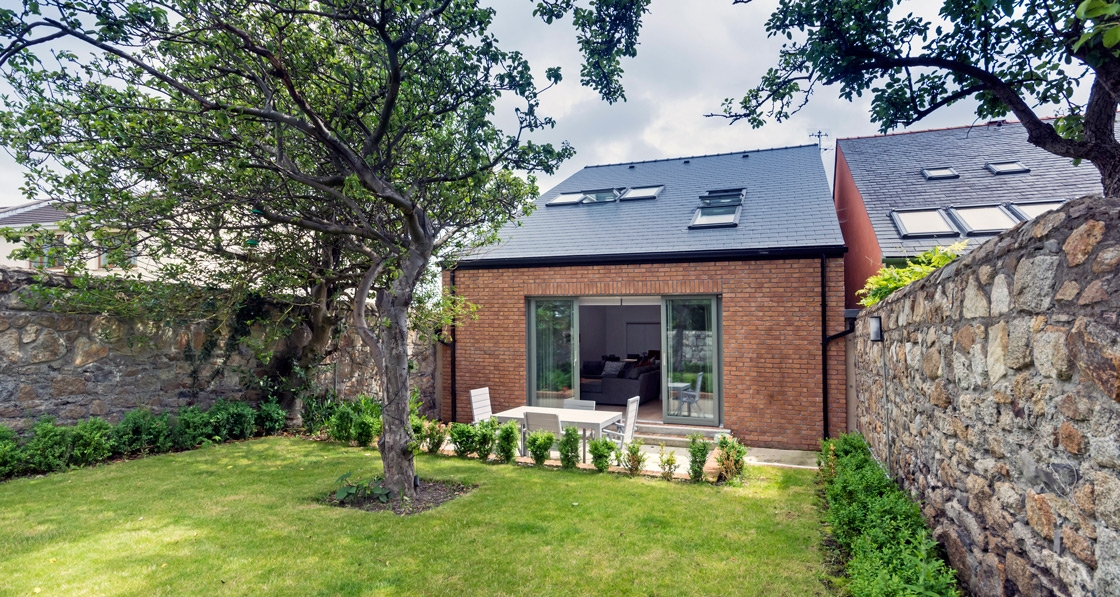 Stylish low energy house squeezed into South Dublin garden