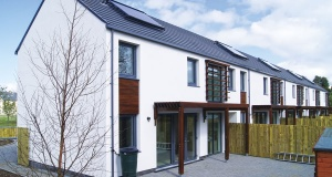 Dungannon social housing sets passive example