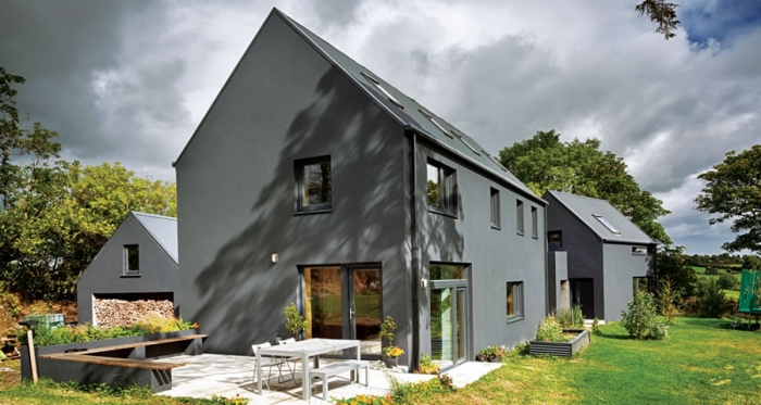 Longford self-build goes certified passive on a budget