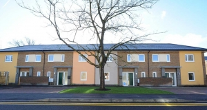 13 affordable passive homes completed in Crawley, West Sussex