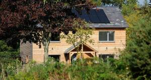The West Midlands eco house with no energy bills