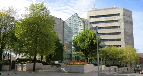 Dublin city council civic offices, Wood quay