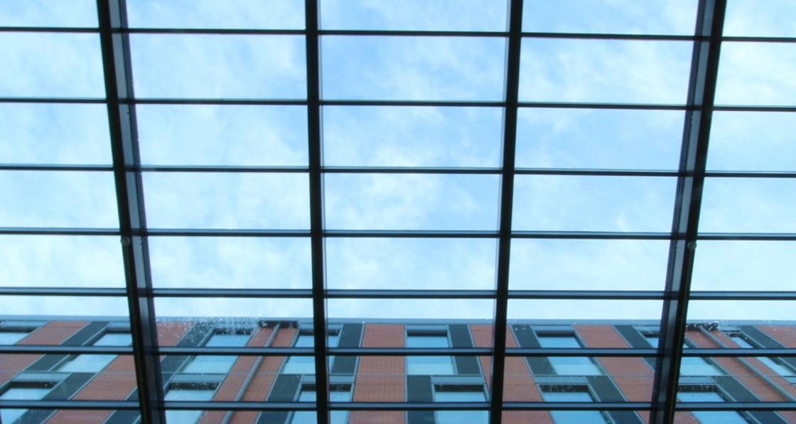 DVS install passive roof lights at University of Leicester's Centre for Medicine