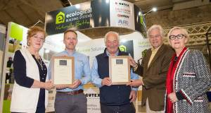 Ecological scoop hat-trick of awards at Archi Expo