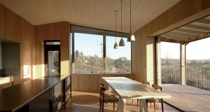 Stunning Somerset passive house embraces wood and light