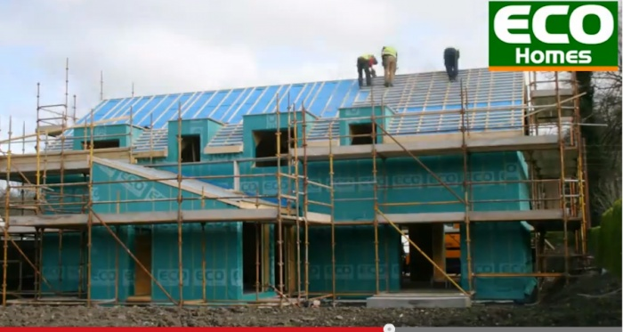 A passive house time-lapse from Cork