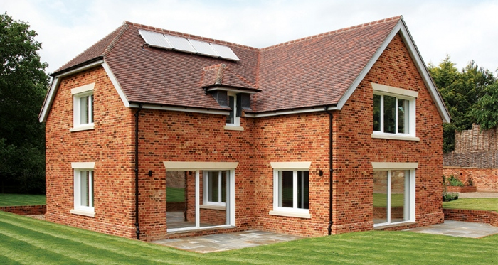 Red brick Surrey home becomes an unintentional passive house -  passivehouseplus.ie