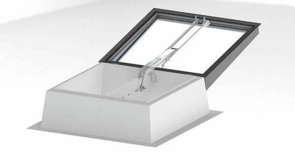 Lamilux smoke vent rooflights suitable for passive house