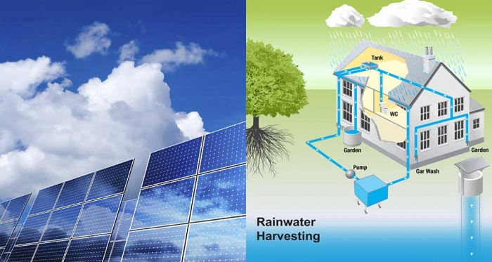 Solar PV cells and rainwater harvesting systems: nice technologies, but not a requirement for passive houses