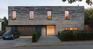 Wood works - Sleek but large Herts passive house goes heavy on timber