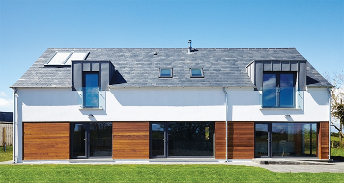 Co Down Passive House Built For Under 163 200 000