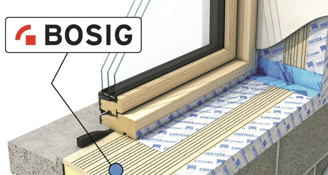 Ecological launches thermal bridging solution